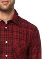 J Lindeberg Gömlek Kırmızı